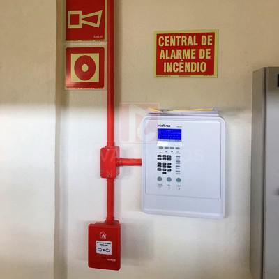 Central de alarme de incendio