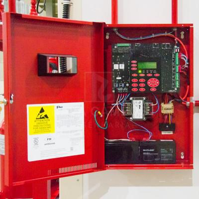 Central de alarme de incendio convencional