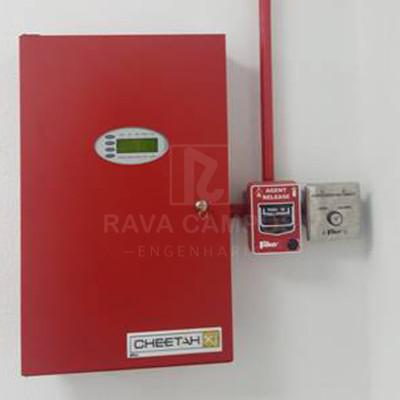 Central de alarme contra incendio preço