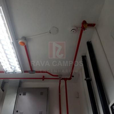 Empresa de instalação de combate a incendio