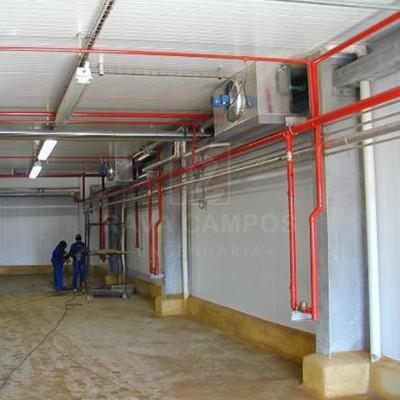 Equipamentos de proteção e combate a incêndio