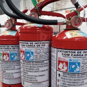 Extintor de incendio preço