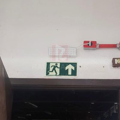 Iluminação de emergencia aclaramento