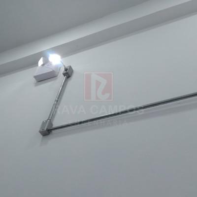 Instalação iluminação de emergência