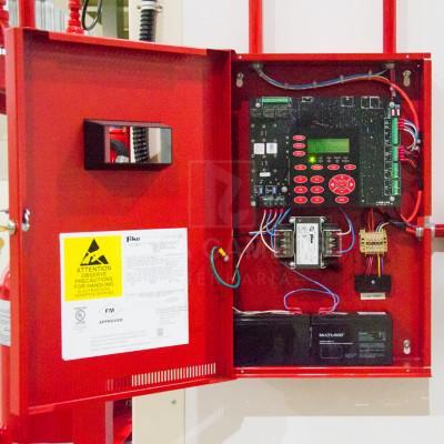 Instalação de rede de combate a incendio