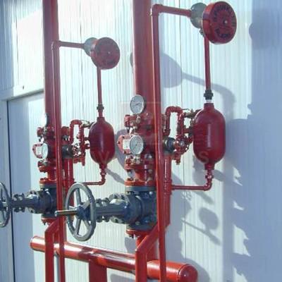 Instalações de combate a incendio