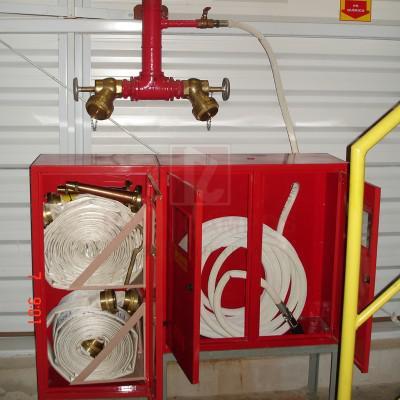 Instalações de sistema de prevenção contra incêndio
