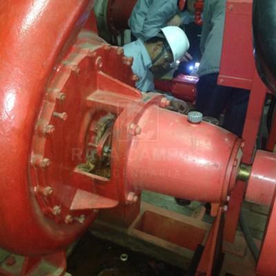 Manutenção sistema de combate a incendio