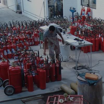 Materiais para combate a incêndio