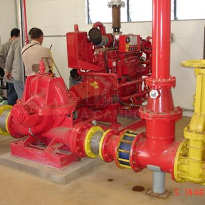 Materiais para sistema de combate a incendio