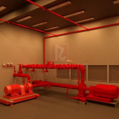 Projeto executivo de combate a incendio