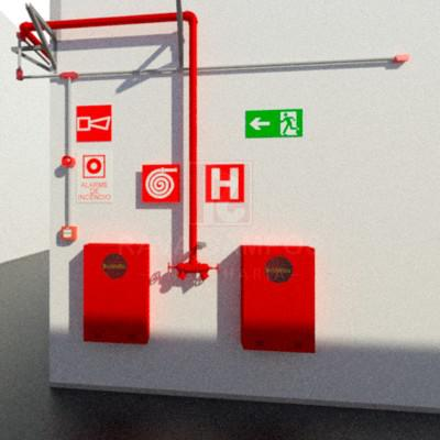 Projeto de incendio hidrante