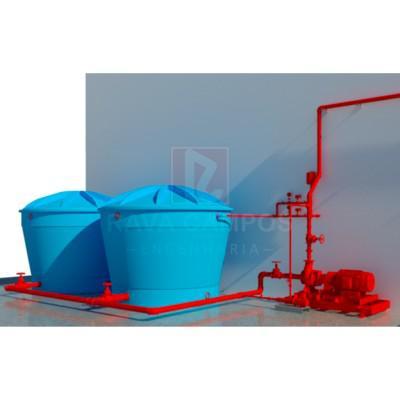 Projeto rede de hidrantes