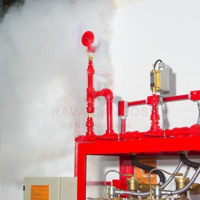 Sistema de combate a incendio