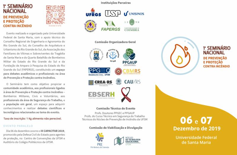 1° Seminário Nacional de Prevenção e Proteção Contra Incêndio