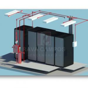 Projeto sistema de hidrantes