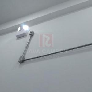 Sistema de iluminação de emergencia predial