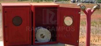Manutenção do sistema de hidrantes