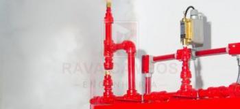 Sistema de detecção e alarme de incendio
